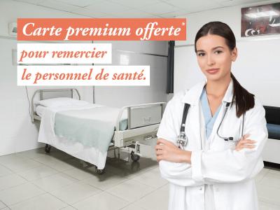 Carte premium offerte*