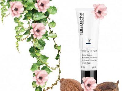 Crème-masque visage à l'acide hyaluronique